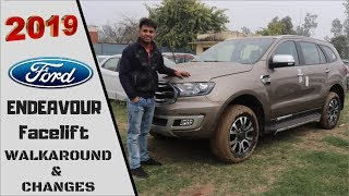 2019 FORD ENDEAVOUR Facelift walkaround | New Ford Endeavour