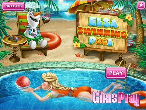 Full Download Frozen Games Elsa In The Swimming Pool