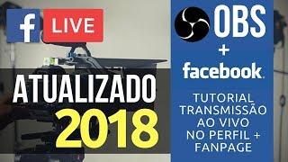 Transmissão ao vivo OBS + Facebook no Perfil ou Fanpage thumbnail