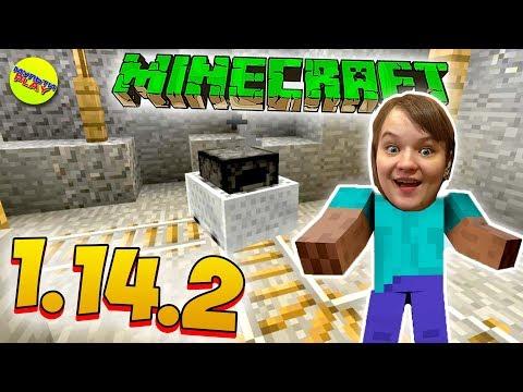 Майнкрафт ВЫЖИВАНИЕ 1 14 2 СЕТЕВАЯ игра ШАХТА в Minecraft