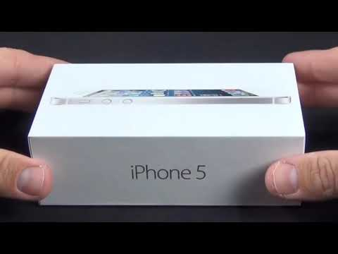 Apple iPhone 5 Unboxing [DetroitBORG]