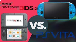 2018 Nintendo New 3Ds xl VS Sony Ps Vita Slim cual es mejor? review/comparativa en español