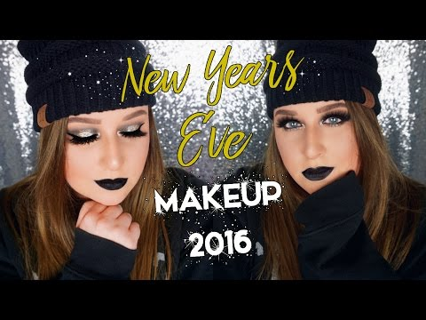 NEW YEARS EVE MAKEUP TUTORIAL 2016 thumbnail