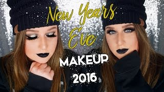 NEW YEARS EVE MAKEUP TUTORIAL 2016 | Kait Nichole