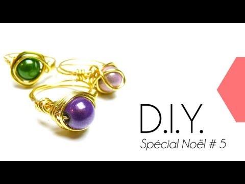 """tutoriel---diy-special-noël-#5-:-comment-faire-une-bague-en-fil-de-laiton-""""idée-cadeau""""-wire-ring"""