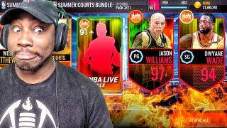 CHICAGO SUMMER PACK OPENING & 97 OVR BOSS JASON WILLIAMS! NBA Live Mobile Gameplay Ep. 140