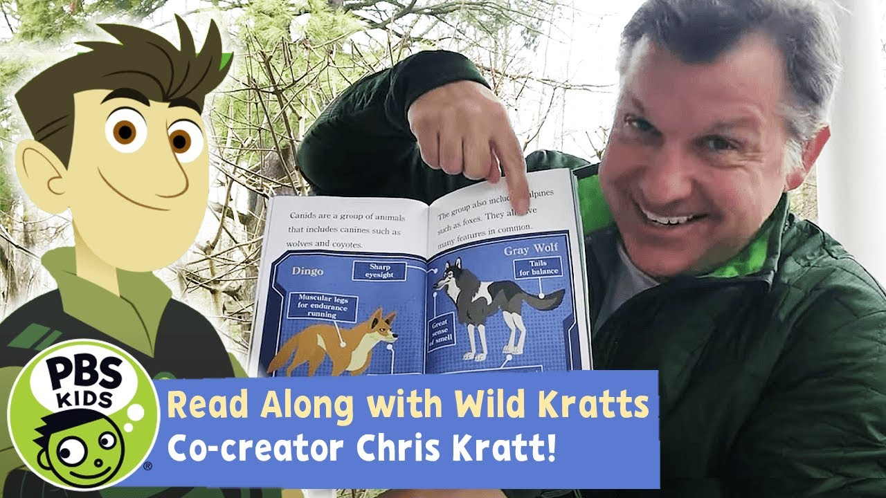 Wild Dogs and Canines | Wild Kratts READ ALONG!