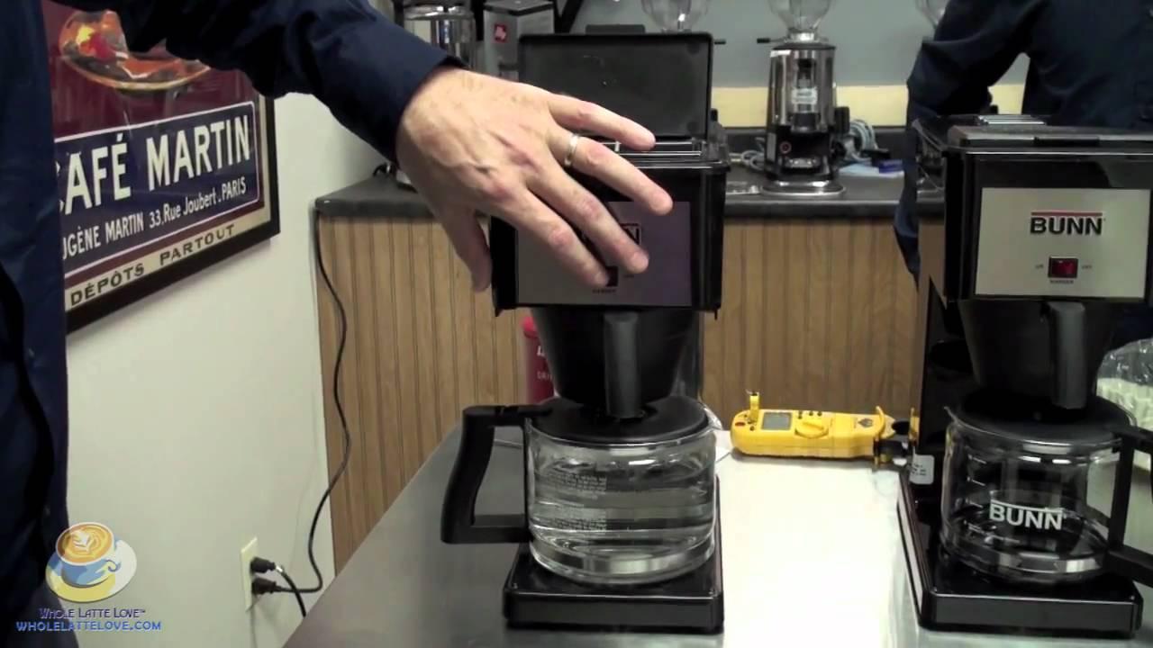 Bunn Coffee Maker  YouTube