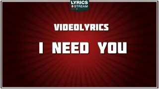 I Need You Marc Anthony tribute Lyrics