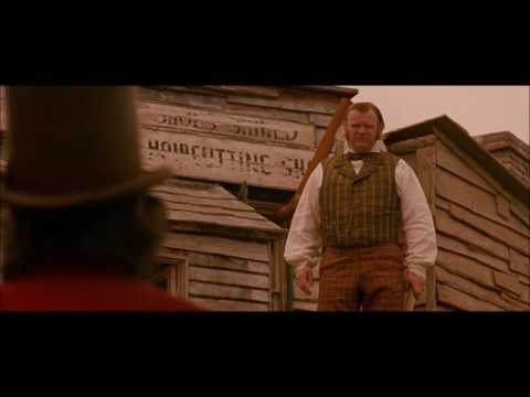 Gangs of New York  Bill The Butcher Kills Walter McGinn and breaks the fourth wall