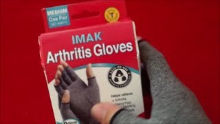 IMAK Arthritis Gloves - Review and Sizing