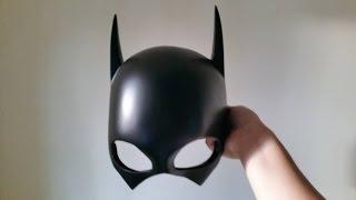 How to make a Batgirl Helmet/Cowl DIY