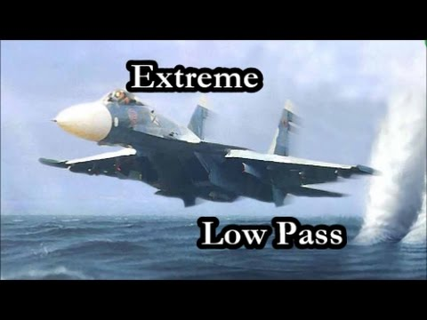 Extreme Low Pass Compilation Fighter Jet. Su-27 & Mig-29. 720p HD.