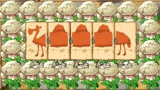 Max Level Caulipower vs Camel Zombies | Plants vs Zombies 2 (PvZ 2)