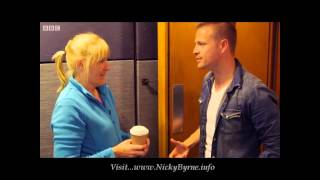 Nicky Byrne and Jenny Gibney Clip Strictly Come Dancing 27-09-14