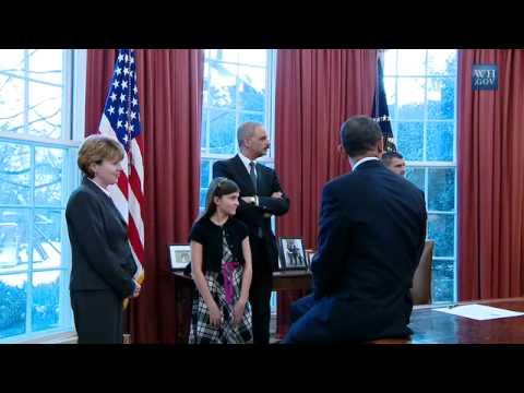 President Obama Meets the SAVE Award Winner