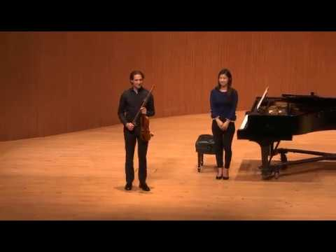 Daniel Johnson Concert at the San Francisco Conservatory of Music