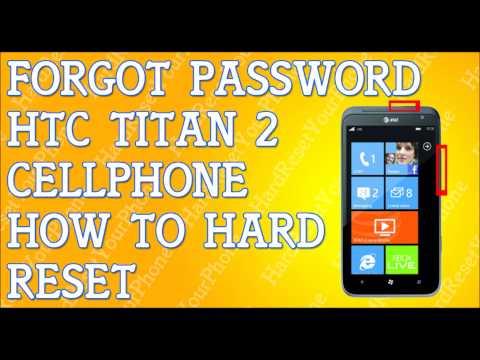 Forgot Password HTC Titan 2 Hard Reset Fix