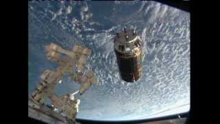 Japanese Cargo Ship Arrives at ISS