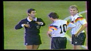 [RARE] Finale de la coupe du monde de football 1990 - Argentine/Allemagne (RFA)