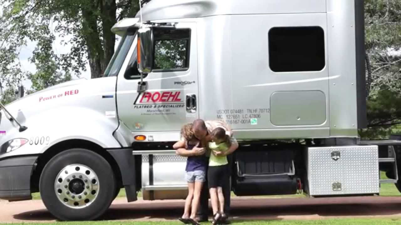 Roehl Transport Truck Driving Jobs - YouTube
