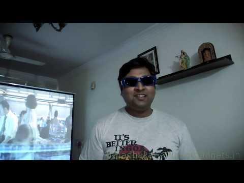Benq MX525 3D projector review demo