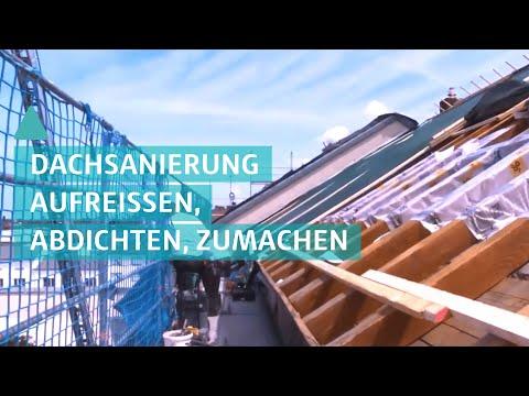 Dachsanierung – Wenn das Dach in die Jahre kommt