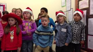 Blackhorse Infant Choir - Little Jesus Sweetly Sleep