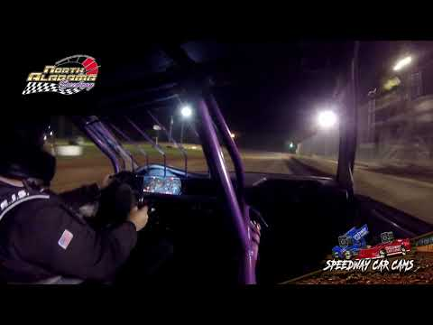 Winner - #69X Matthew Dillard - Super Buzz - 7-14-18 North Alabama Speedway - In Car Camera