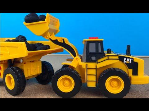 Juguetes Camiones de Construccion CAT Mini Movers Cat - Caterpillar Camion de volteo Cargador