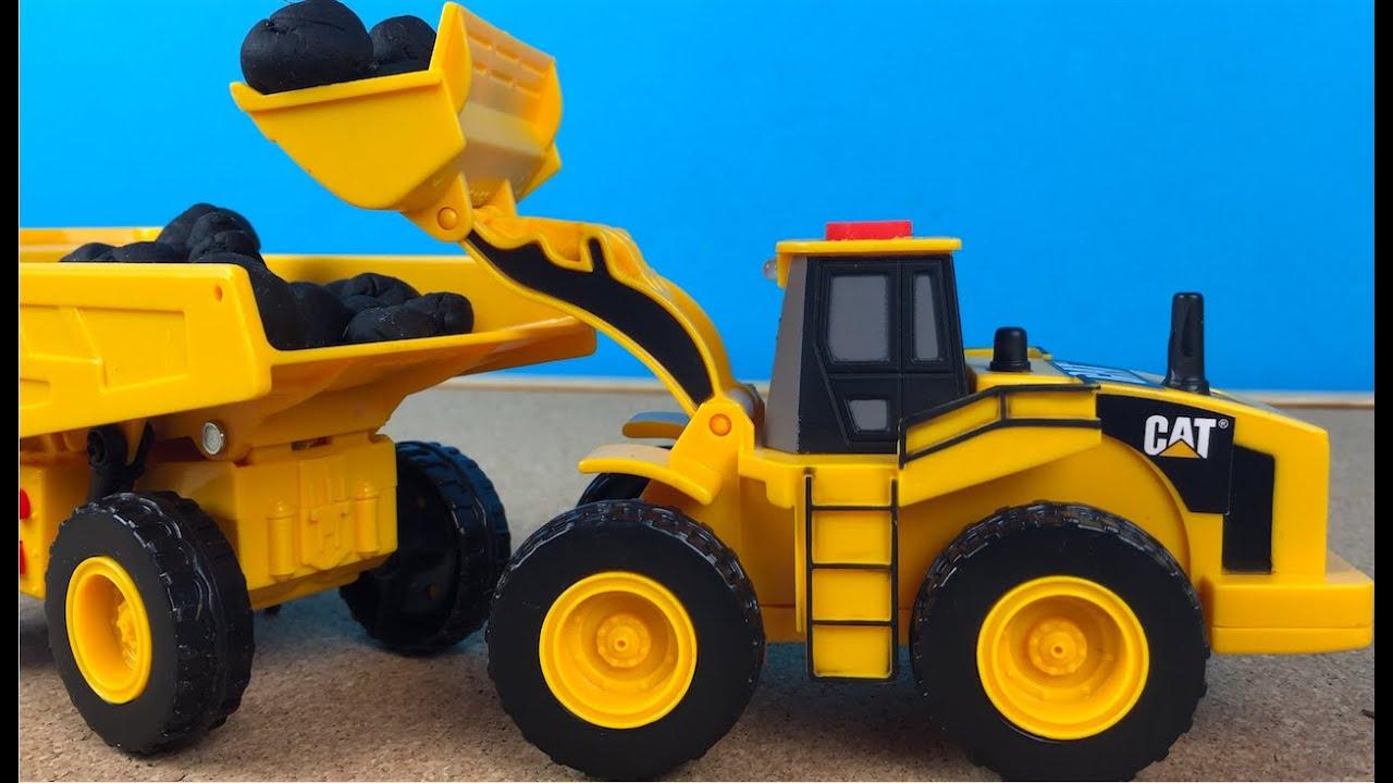 Juguetes Camiones de Construccion CAT Mini Movers Cat
