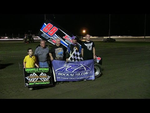 USCS Feature Greenville Speedway Ms. 8 2 14