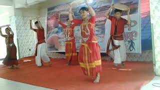 New Chakma music dance 2018 Performance by Hengorong Sangskriti  Acadamy