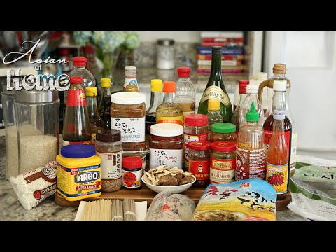 Asian at Home | Basic Asian Ingredients
