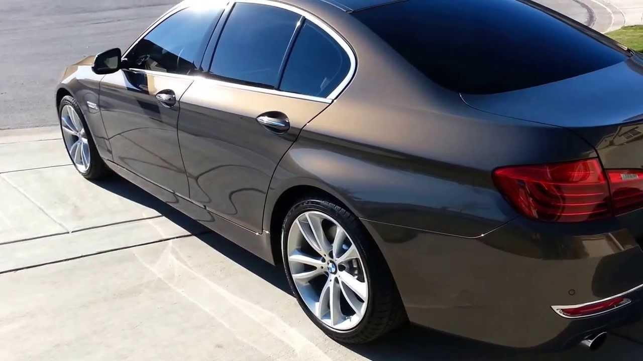 2013 BMW 535I >> Champagne Quartz Metallic 2014 BMW 535i Texas - YouTube