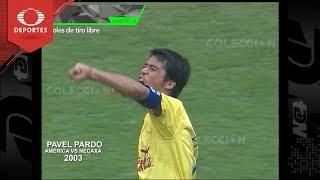 Futbol Retro: Mejores goles de tiro libre de América | Televisa Deportes