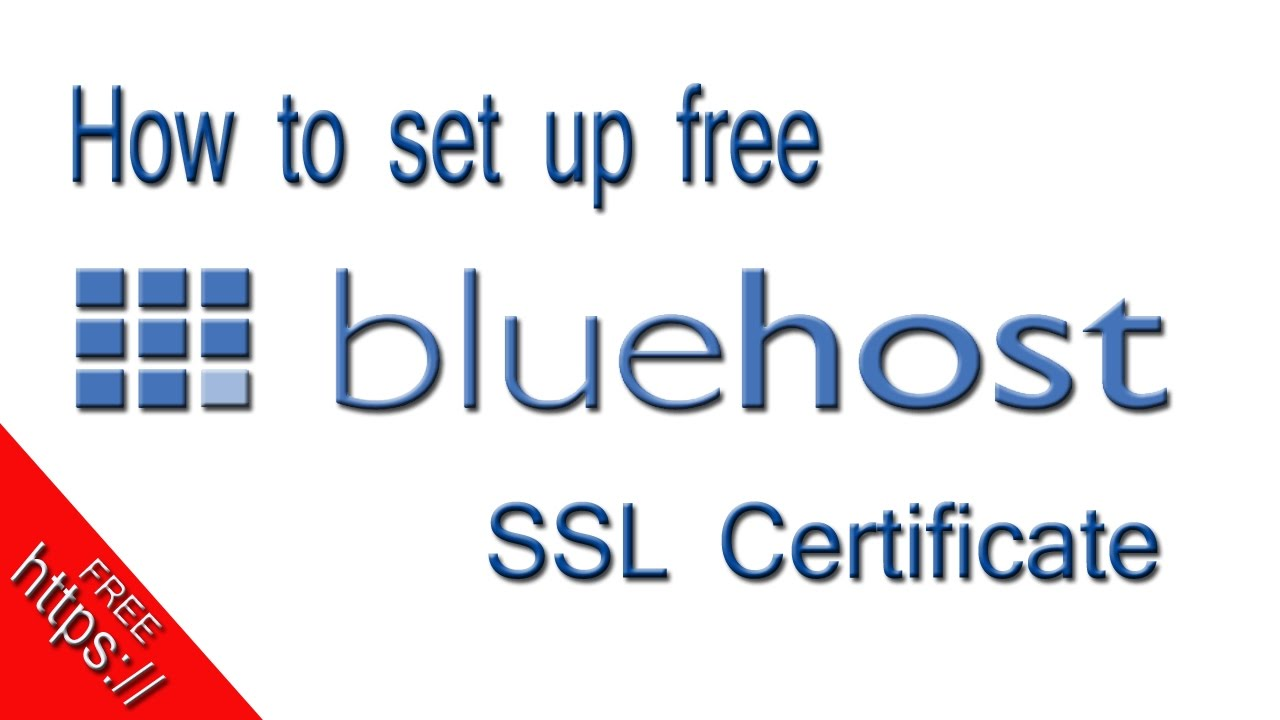 How to enable bluehost free ssl certificate to get https on blog how to enable bluehost free ssl certificate to get https on blog xflitez Choice Image