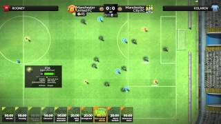 FX Eleven Gameplay - Manchester United #4 - League Begins! (NEW 2014 FOOTBALL MANAGER GAME)