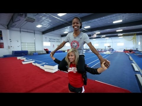 Qualified episode 4 shawn johnson helps mentor gabrielle douglas on qualified episode 4 shawn johnson helps mentor gabrielle douglas on her way to london olympics m4hsunfo