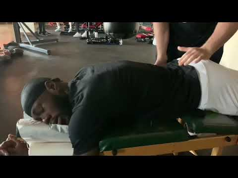 Boxing Champion Deontay Wilder Gets The Edge With Chiropractor Dr Zev Mellman