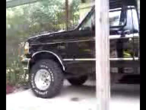 1994 f150 on 32's and a leveling kit - YouTube
