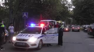 Смотреть видео Взрыв газа в жилом доме в Москве на Нагорной улице, дом 18, корп.2.. онлайн