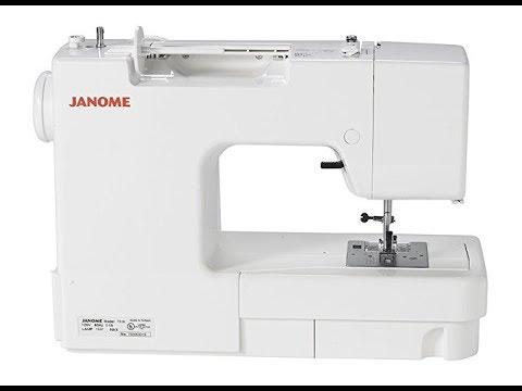 Janome Magnolia 40 Sewing Machine YouTube Fascinating Janome Magnolia 7318 Sewing Machine