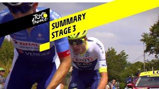 Samenvatting derde etappe van Tour de France 2019