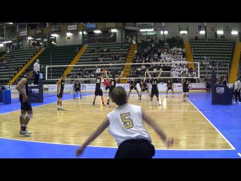 Sachem North Volleyball 2014 Rob Nolan #5 Libero Highlights