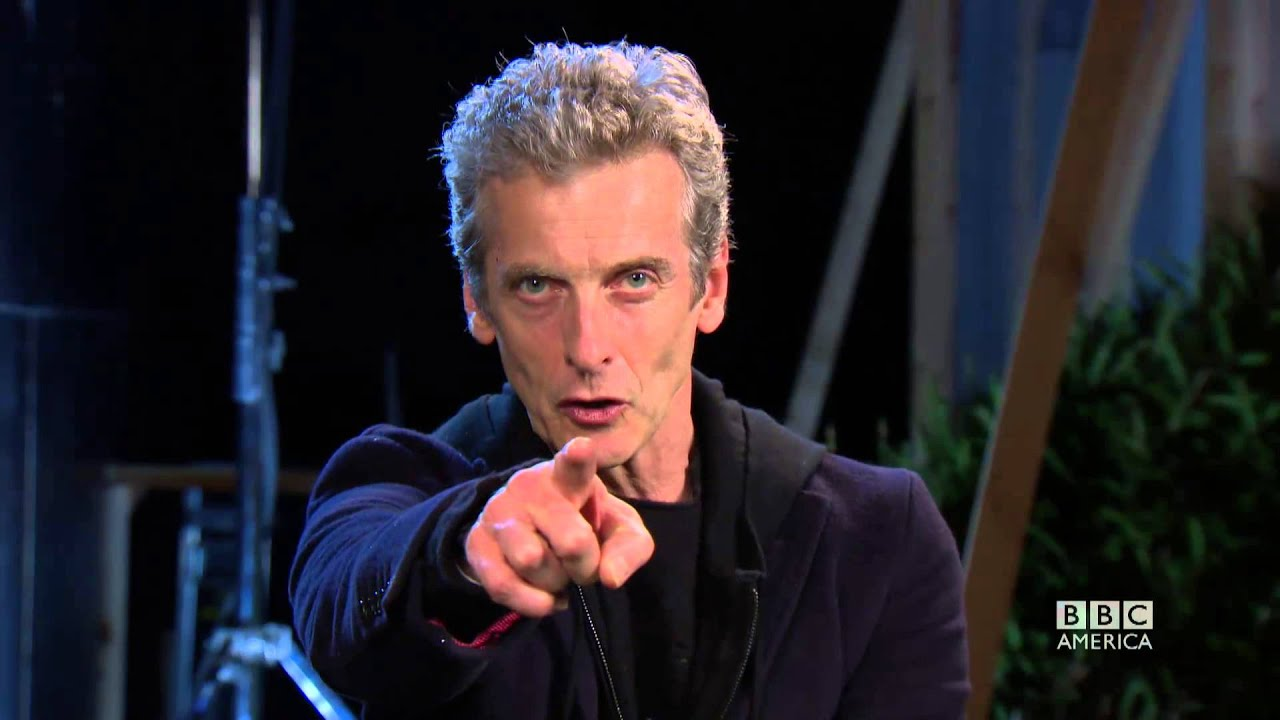 A Thanksgiving Message from Peter Capaldi - Doctor Who Christmas ...