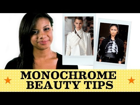 Make Grey, Black & White Pop: Here's How | Seventeen's Get Cute with Chloe