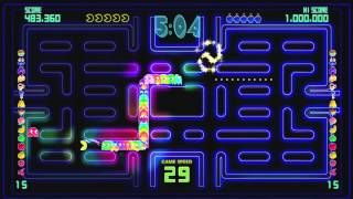 PAC-MAN Championship Edition DX Gameplay XBOX 360 HD