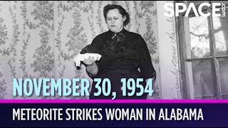 OTD in Space - Nov. 30: Meteorite Strikes Woman in Alabama