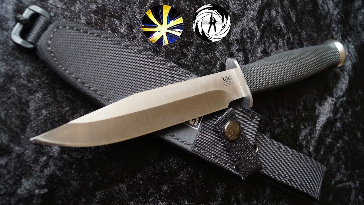 SOG Specialty Knives Government - Is it a real James Bond Knife? Recon  Agent #13 Collection Sammler